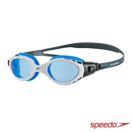 ║speedo║成人運動泳鏡Futura Biofuse白藍