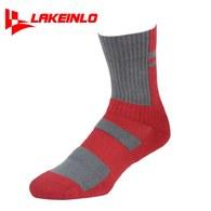 ║LAKEINLO║高專業性籃球襪-紅