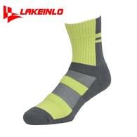 ║LAKEINLO║高專業性籃球襪-綠