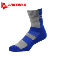║LAKEINLO║高專業性籃球襪-寶藍