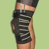 ║深呼吸系列║  A1-501  奈米竹炭調整型彈簧側條護膝